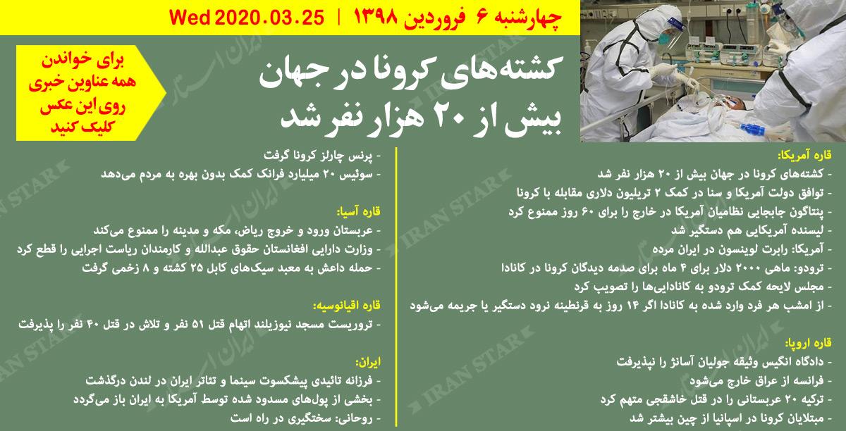 روز-25-03-2020-اخبار-کامل-جهان-ایرانیان-کانادا