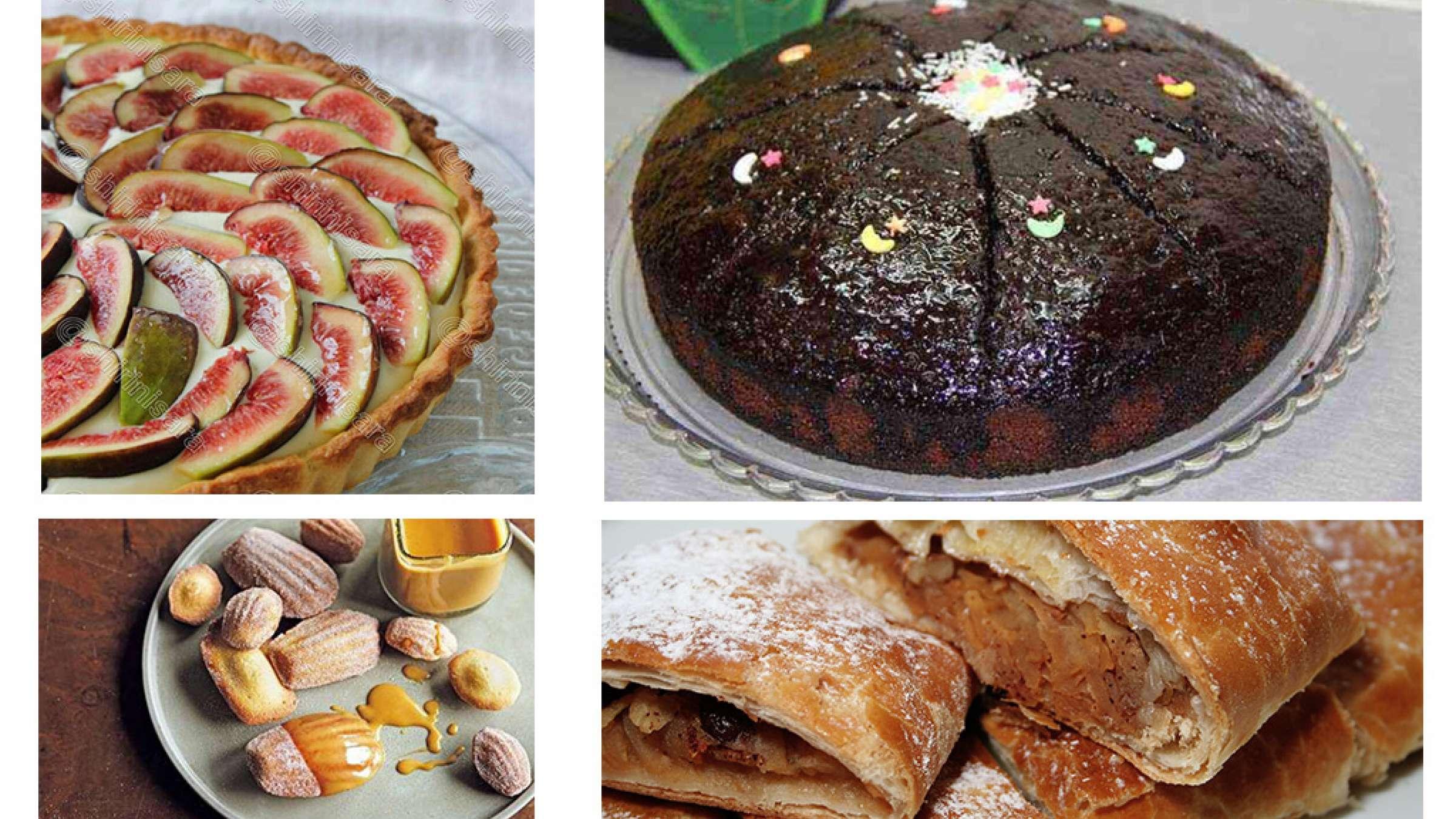 آشپزی-ترابی-تارت-انجیر-مادلن-گلابی-اشترودل-سیب-کیک-خیس-شکلاتی