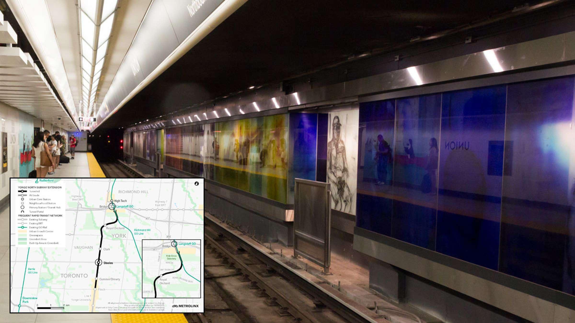 اخبار-تورنتو-انتاریو-یواشکی-خط-مترو-تورنتو-به-منطقه-ایرانی-نشین-ریچموندهیل-را-مختصر-می-کند