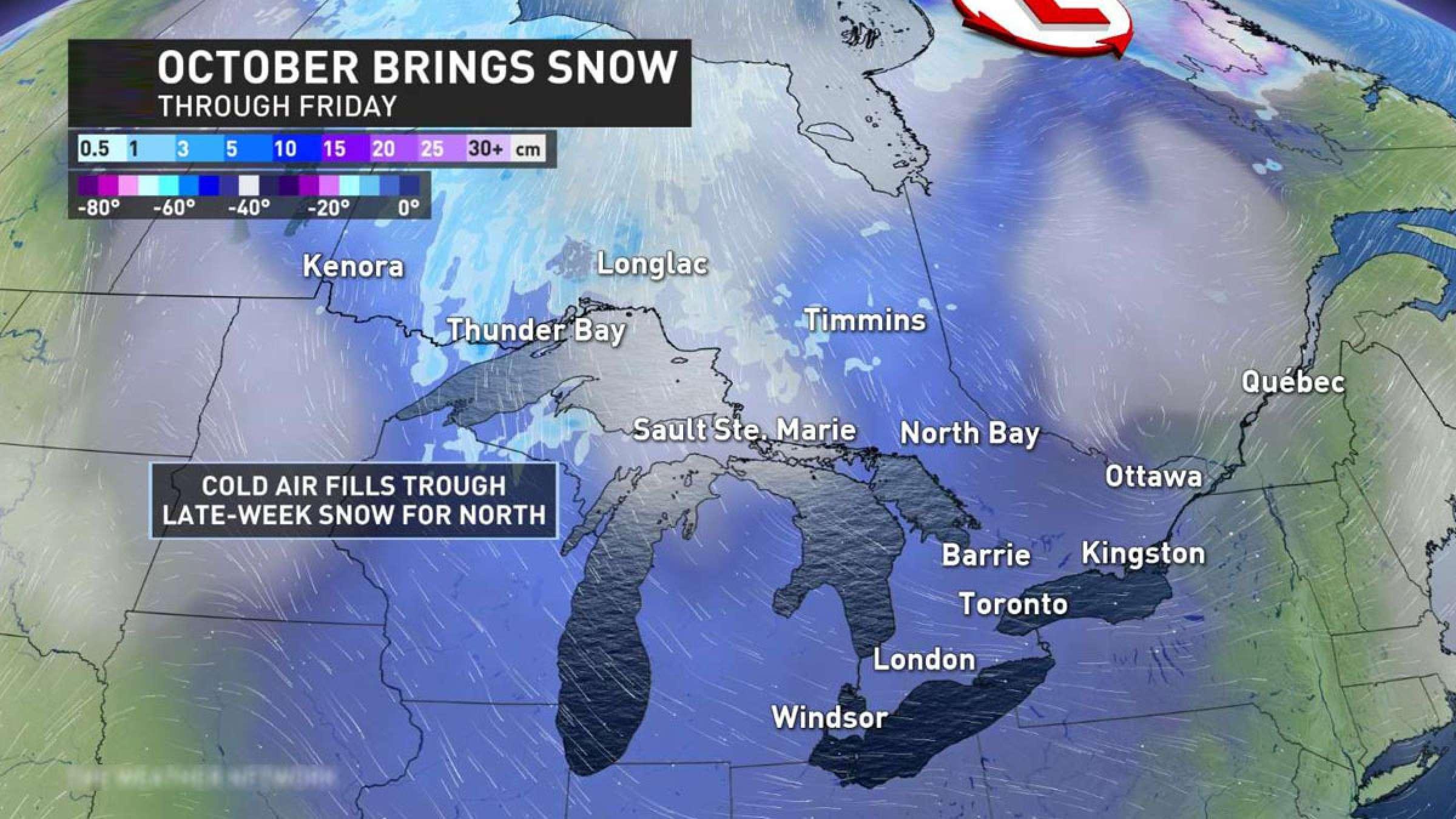 اخبار-تورنتو-سرما-و-برف-در-راه-انتاریو-و-کبک