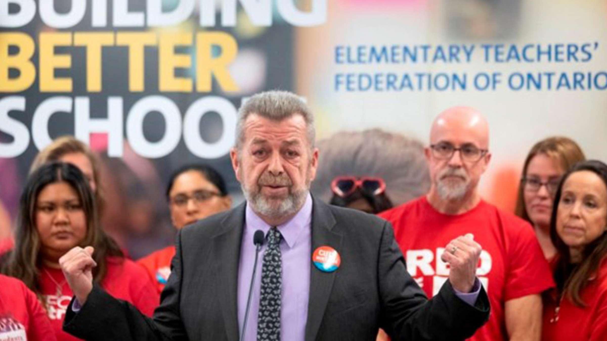 اخبار-تورنتو-معلمان-مدارس-انتاریو-اعتصاب-میکنند