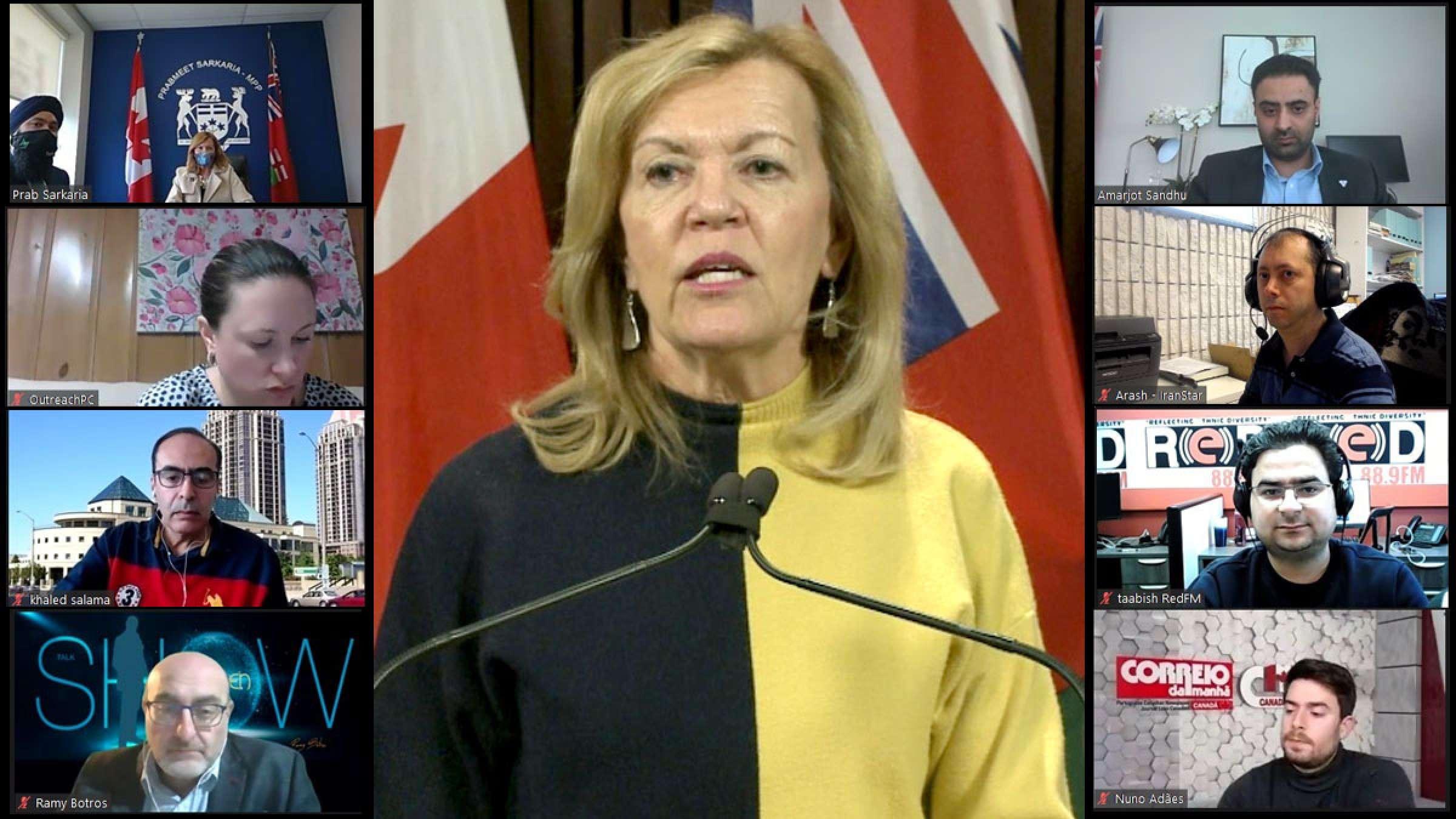 اخبار-تورنتو-وزیر-پاسخ-پزشکی-بهداشت-انتاریو-بودجه-بیمارستان-برمتون-کرونا-واکسن