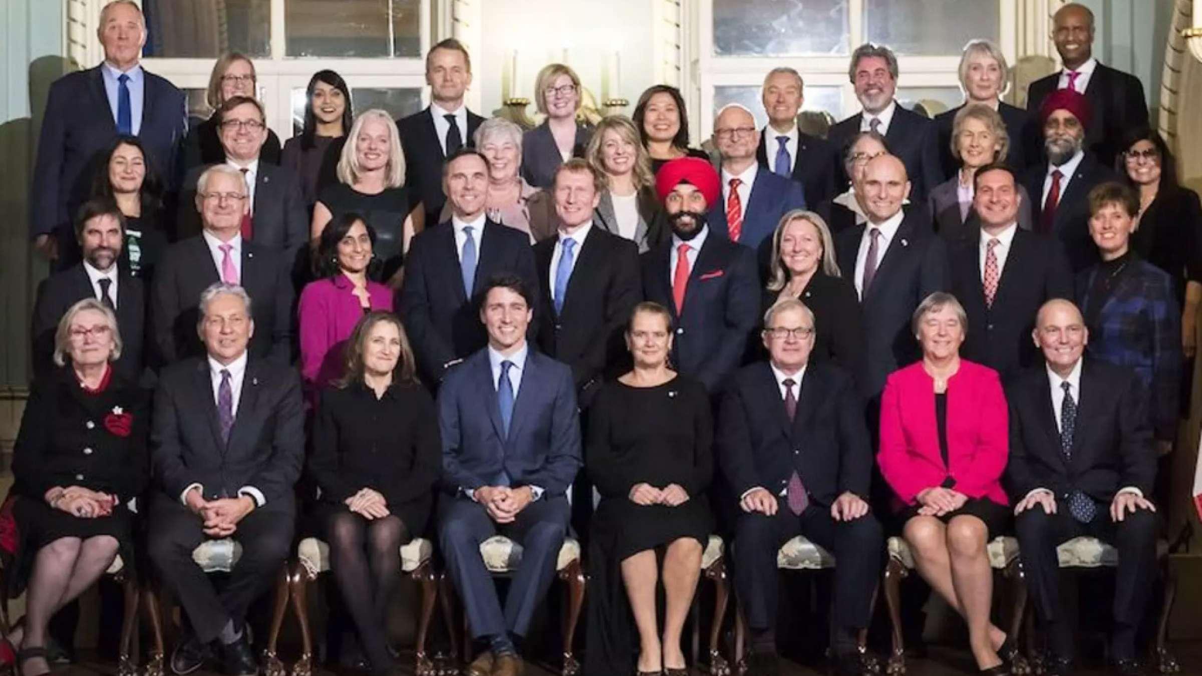 اخبار-کانادا-کابینه-جدید-جاستین-ترودو-معرفی-شد