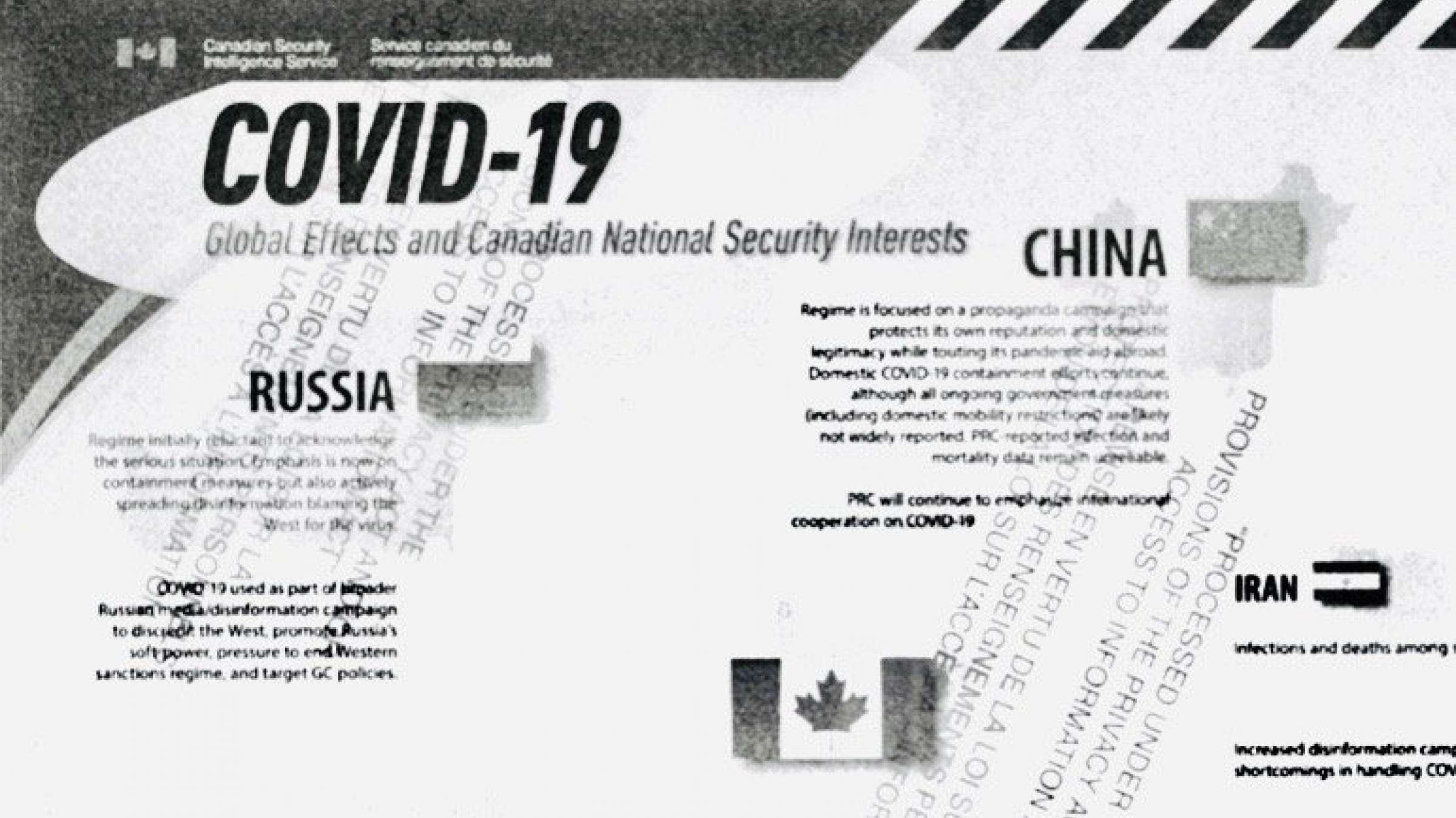اتهام-جدید-سرویس-امنیتی-کانادا-انتشار-اطلاعات-غلط-در-مقیاس-جهانی-درباره-کرونا-توسط-جمهوری- اسلامی
