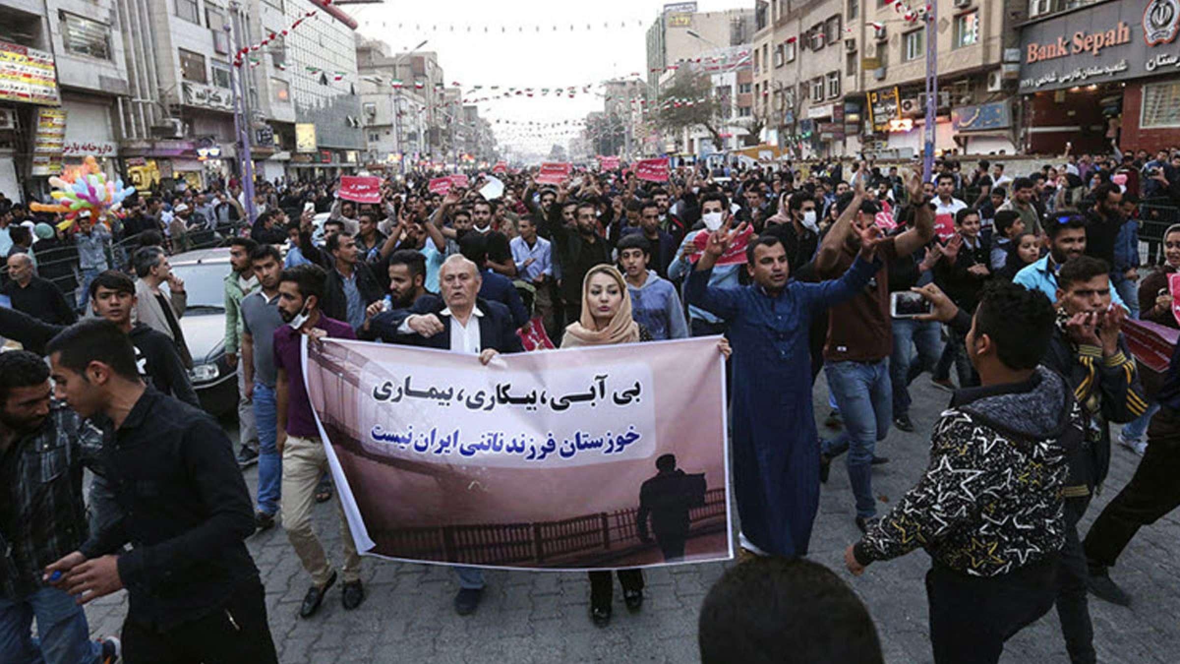 خبر-ایران-گسترش-تظاهرات-و-اعتراضات-خوزستان-به-تهران-و-سراسر-ایران