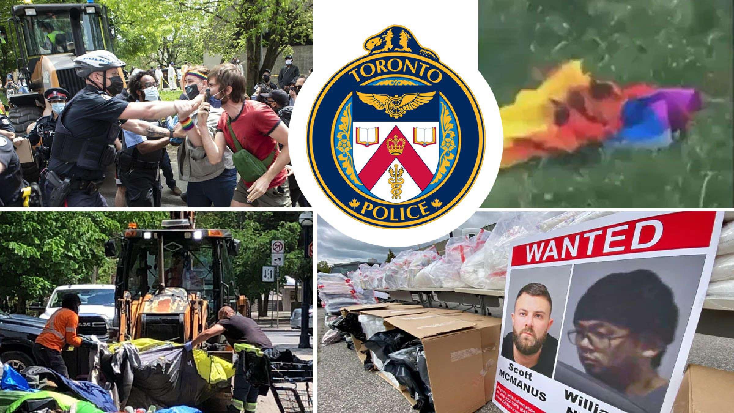 خبر-تورنتو-پلیس-بزرگترین-محموله-قاچاق-مواد-مخدر-دو-نوجوان-آتش-پرچم-همجنسگراها-اخراج-بی-خانمان