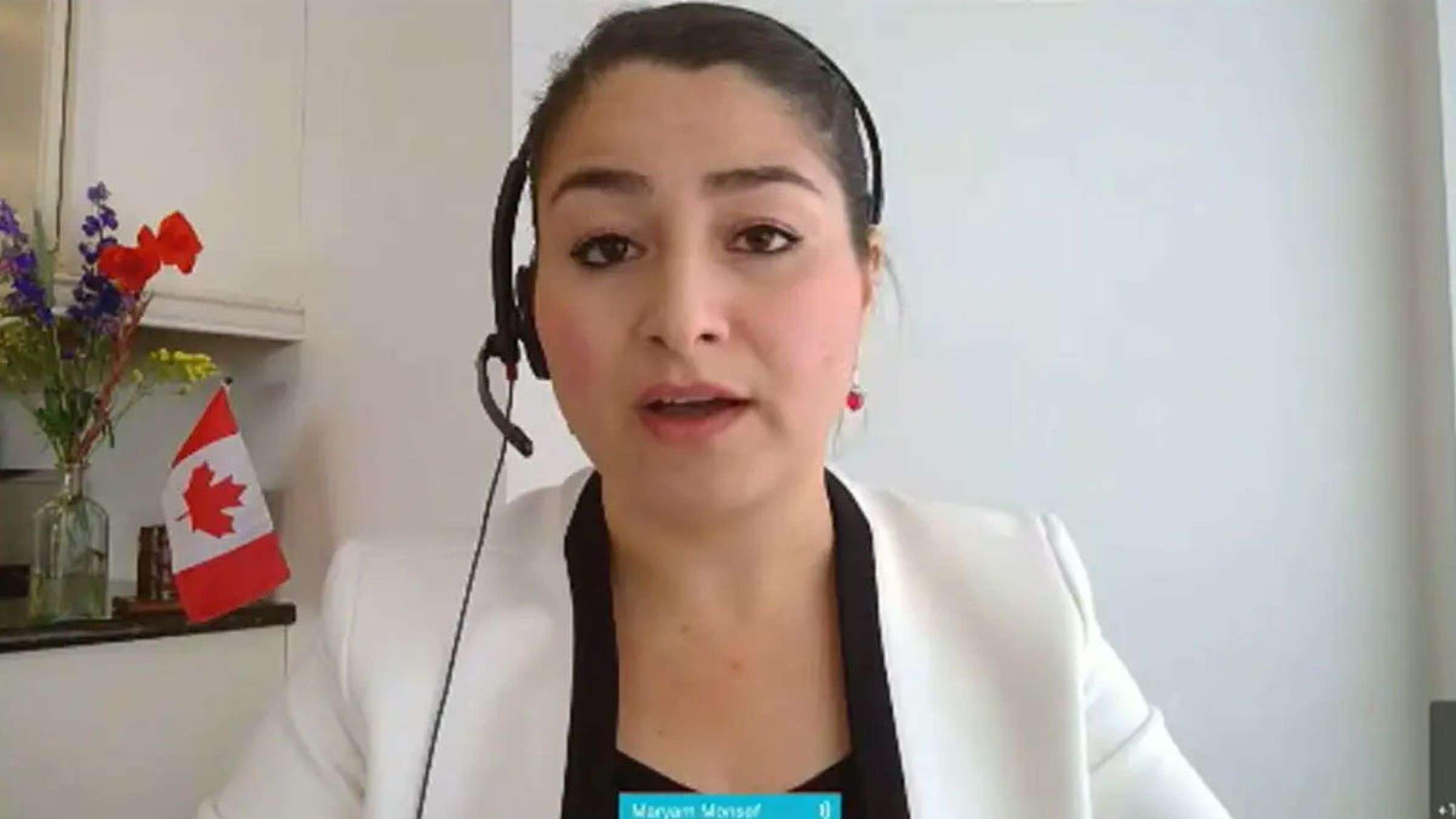 خبر-کانادا-مریم-منصف-نماینده-افغان-تبار-مجلس-کانادا-طالبان-را-برادر-نامید