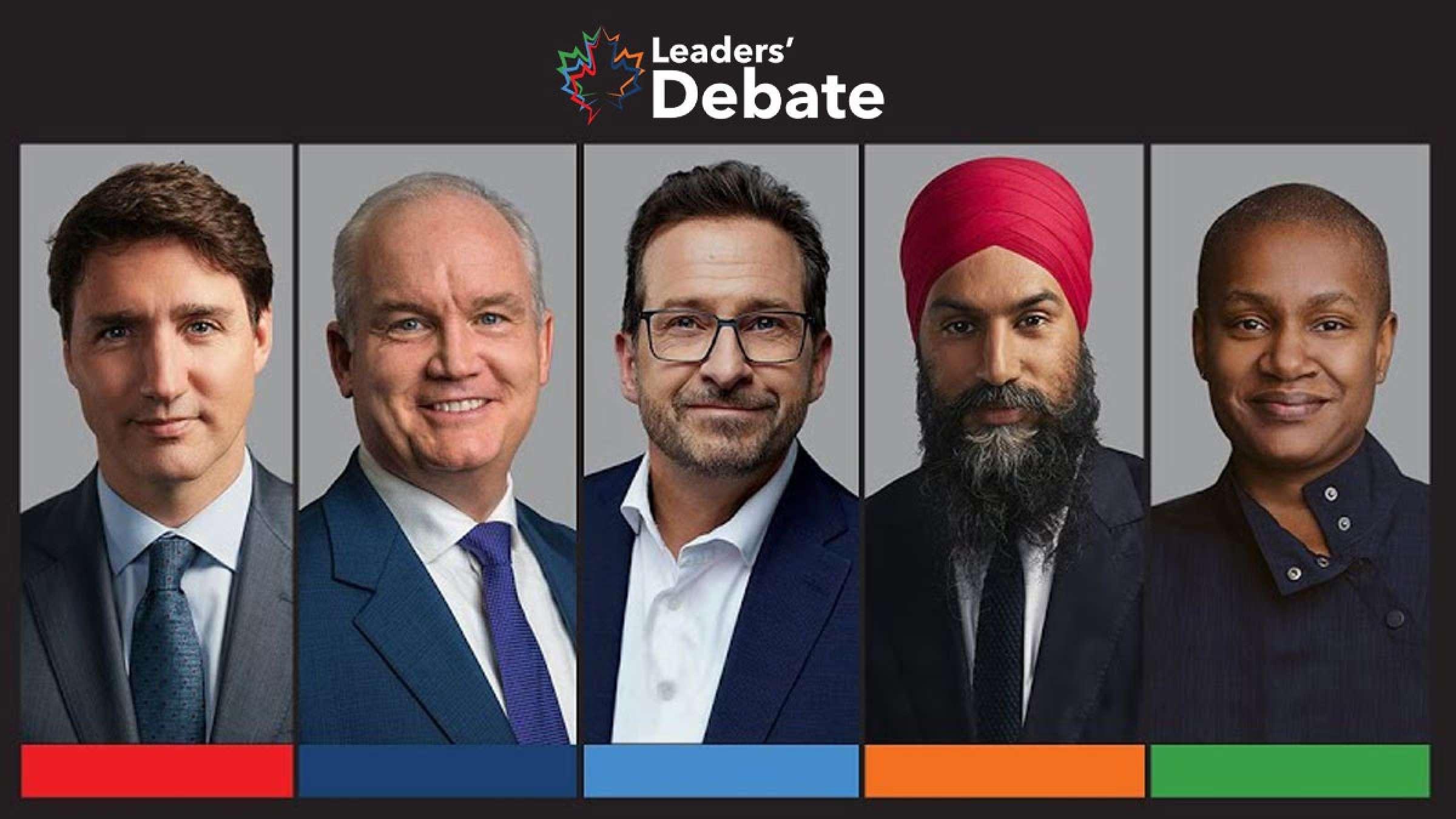 برجستهترین نکات مناظره به زبان انگلیسی رهبران احزاب کانادا برای انتخابات چه بود