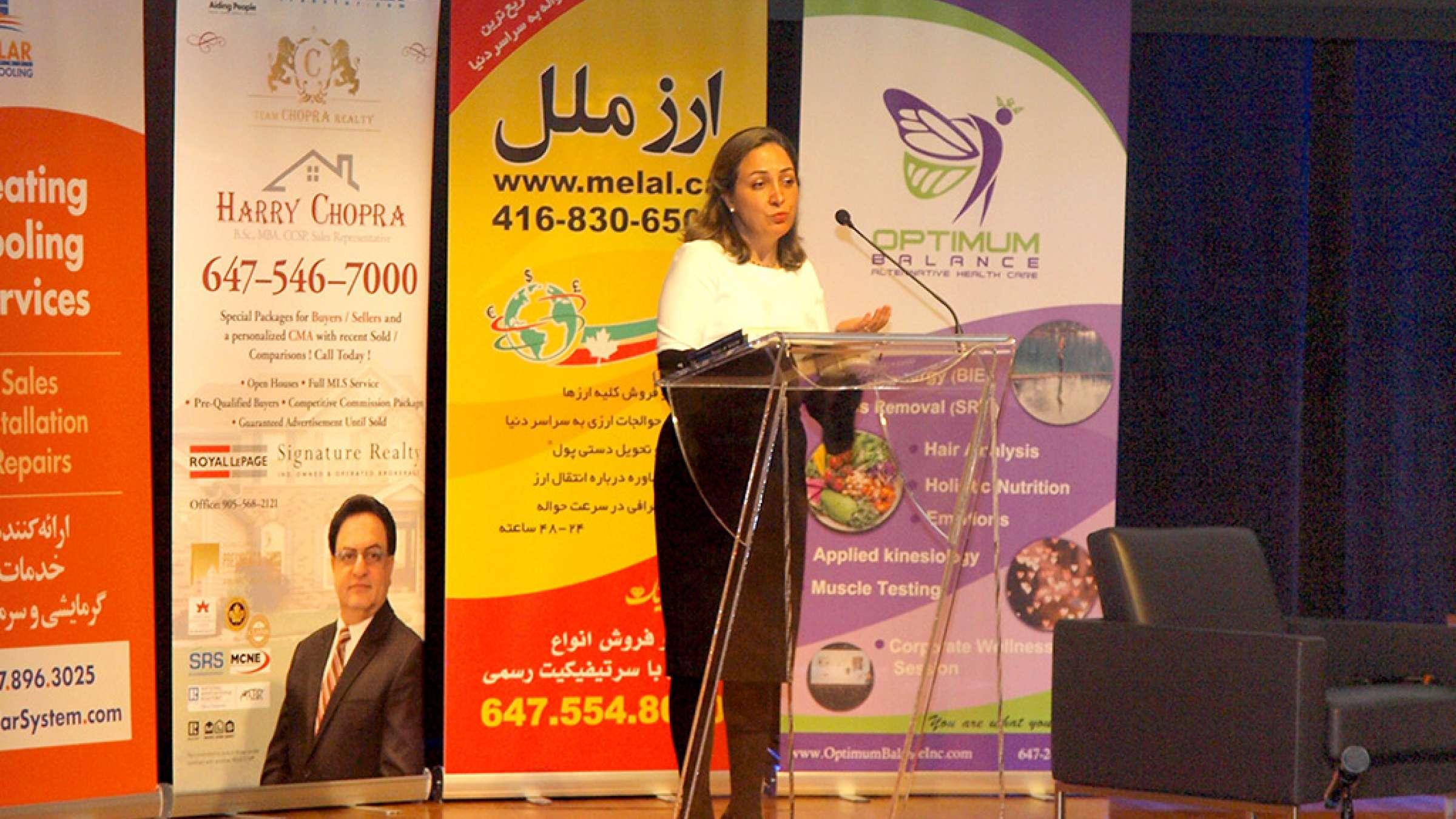 گزارش-روز-برگزاری-بزرگترین-سمینار-سرطان-ایرانیان-در-کانادا-هنگامه-جولایی
