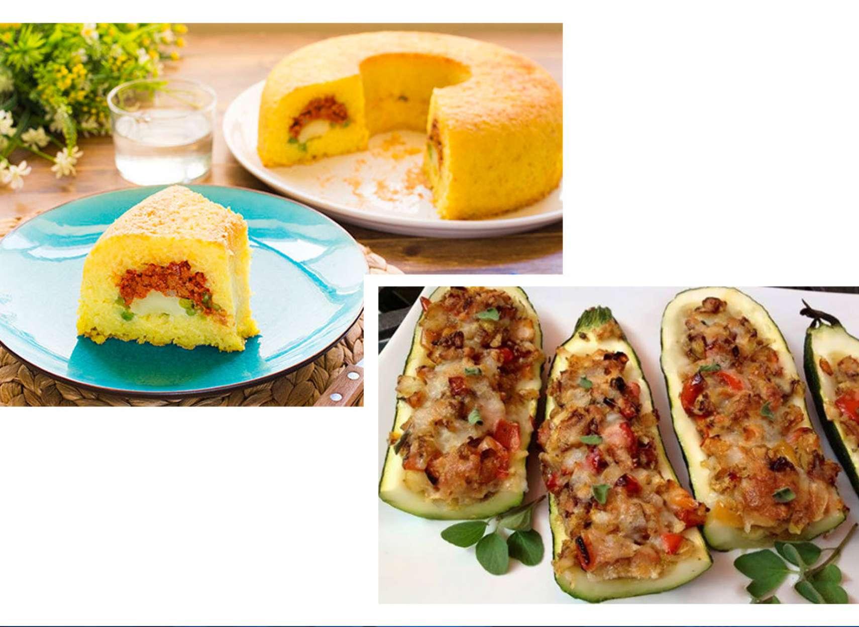 آشپزی-ترابی-کدو-سبز-شکمپر-کیک-برنج-ریزوتو-و-گوشت