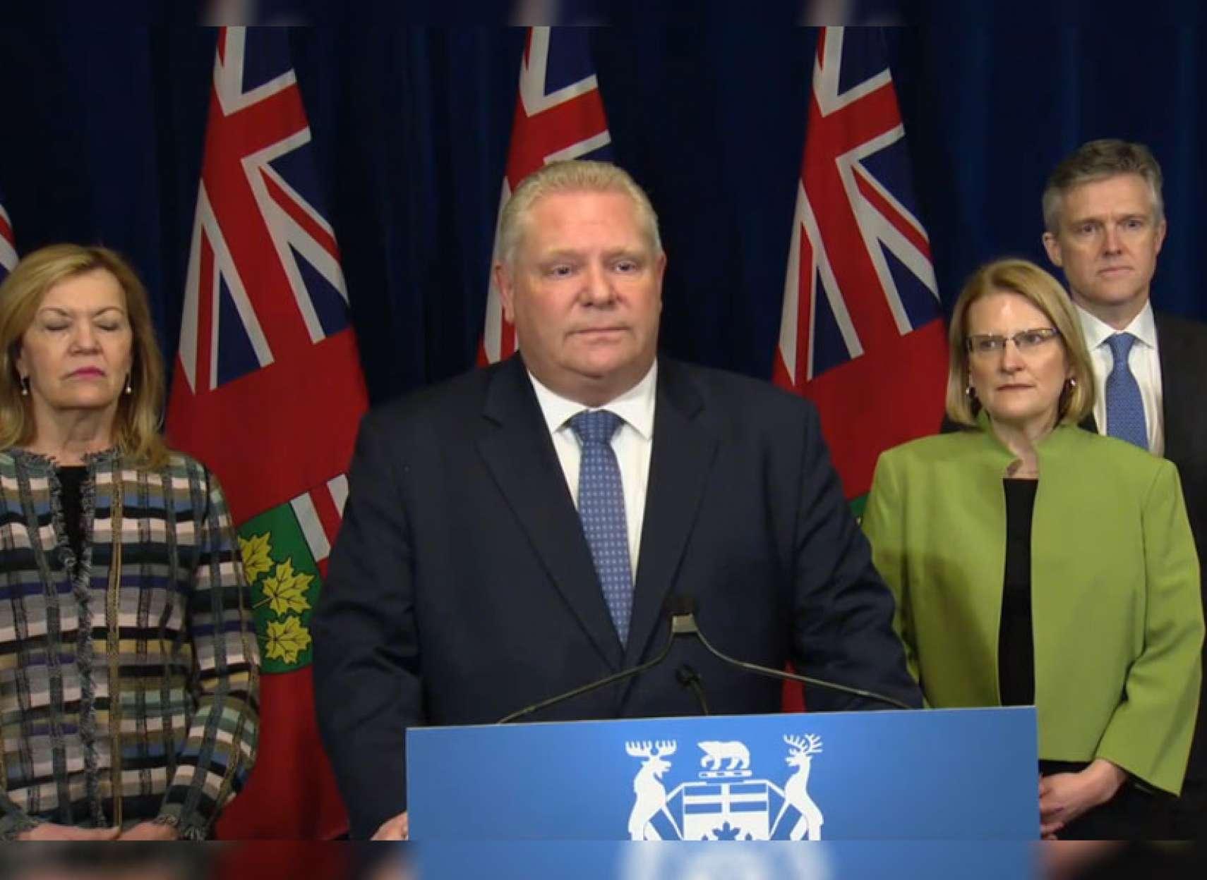 اخبار-تورنتو-اعلان-شرایط-اضطراری-در-انتاریو-اجتماعات-لغو-و-به-مردم-کمک-مالی-می-شود