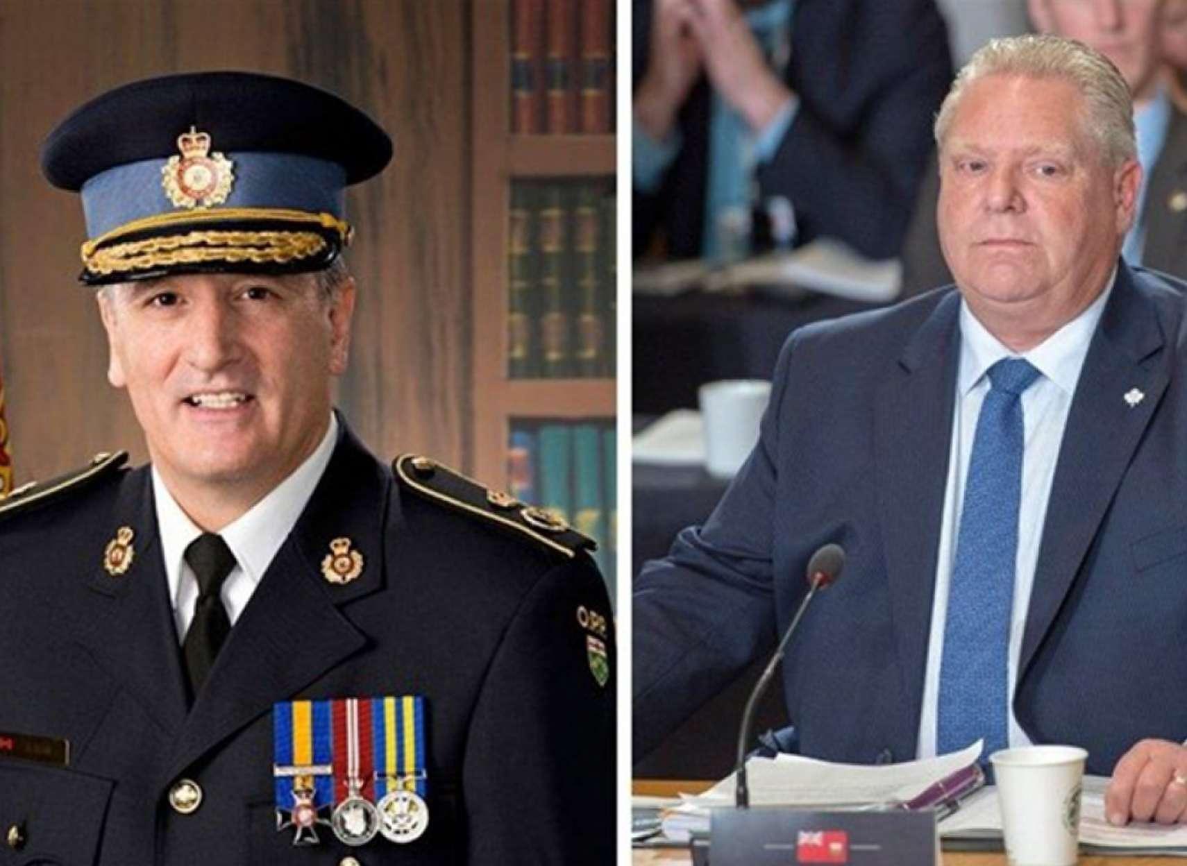 اخبار-تورنتو-پلیس-اخراجی-فورد-را-سو-کرد