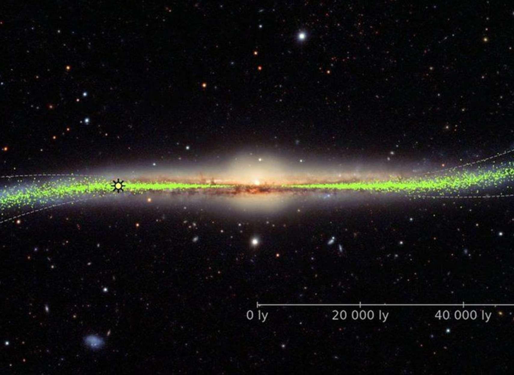 اخبار-علمی-تغییر-نظر-دانشمندان-درباره-شکل-کهکشان-راه-شیری-و-آینده-آن