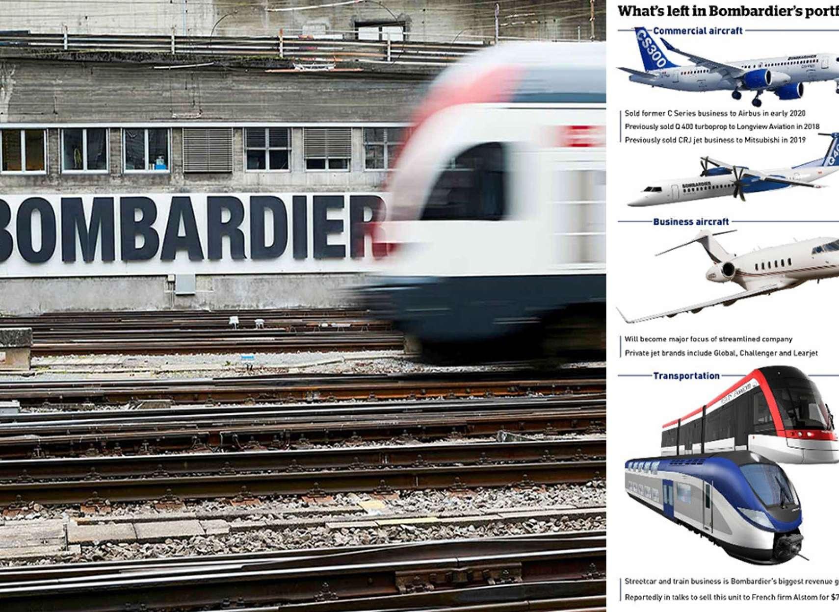 اخبار-کانادا-بمباردیه-بخش-قطارش-را-به-آلستوم-فرانسه-می-فروشد