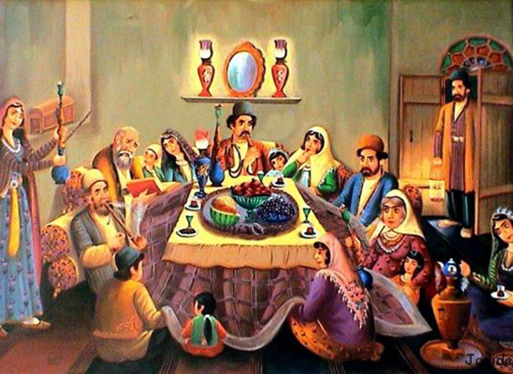 ادبیات-گلمحمدی-نگاهی-جدید-به-شب-یلدا-شب-مبارزه-با-سیاهی-و-ظلم