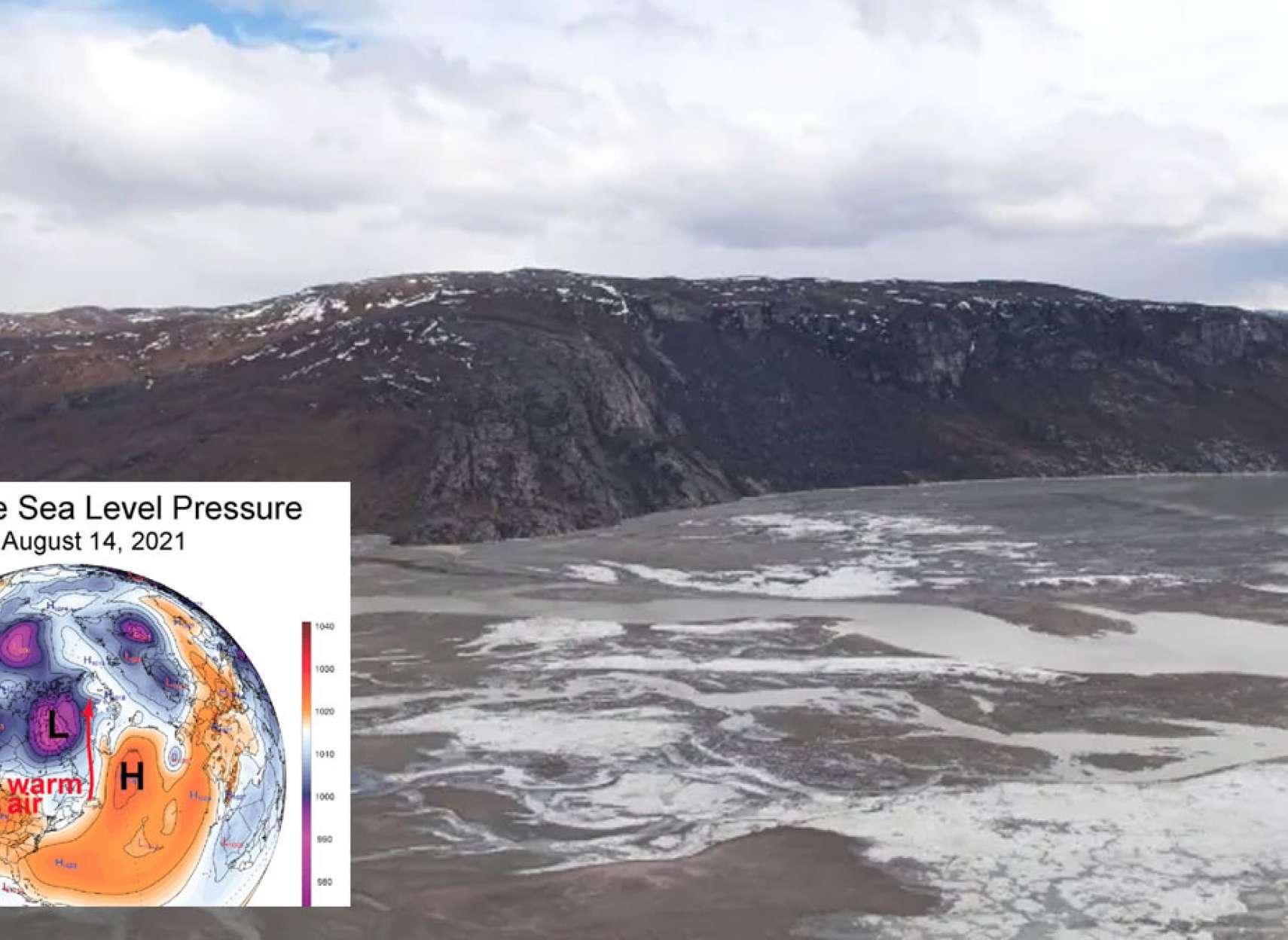 خبر-جهان-برای-اولین-بار-در-گرینلند-باران-بارید