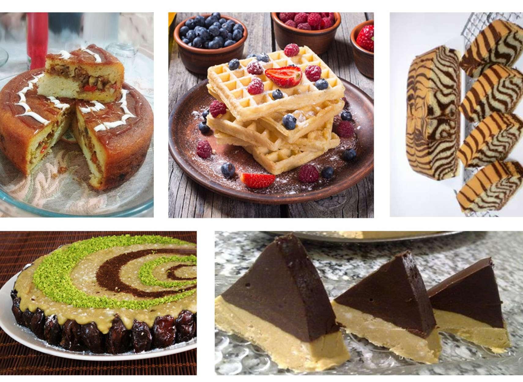کیک-گوشت-رنگینک-مجلسی-حلوا-شکلاتی-ترابی-آشپزی