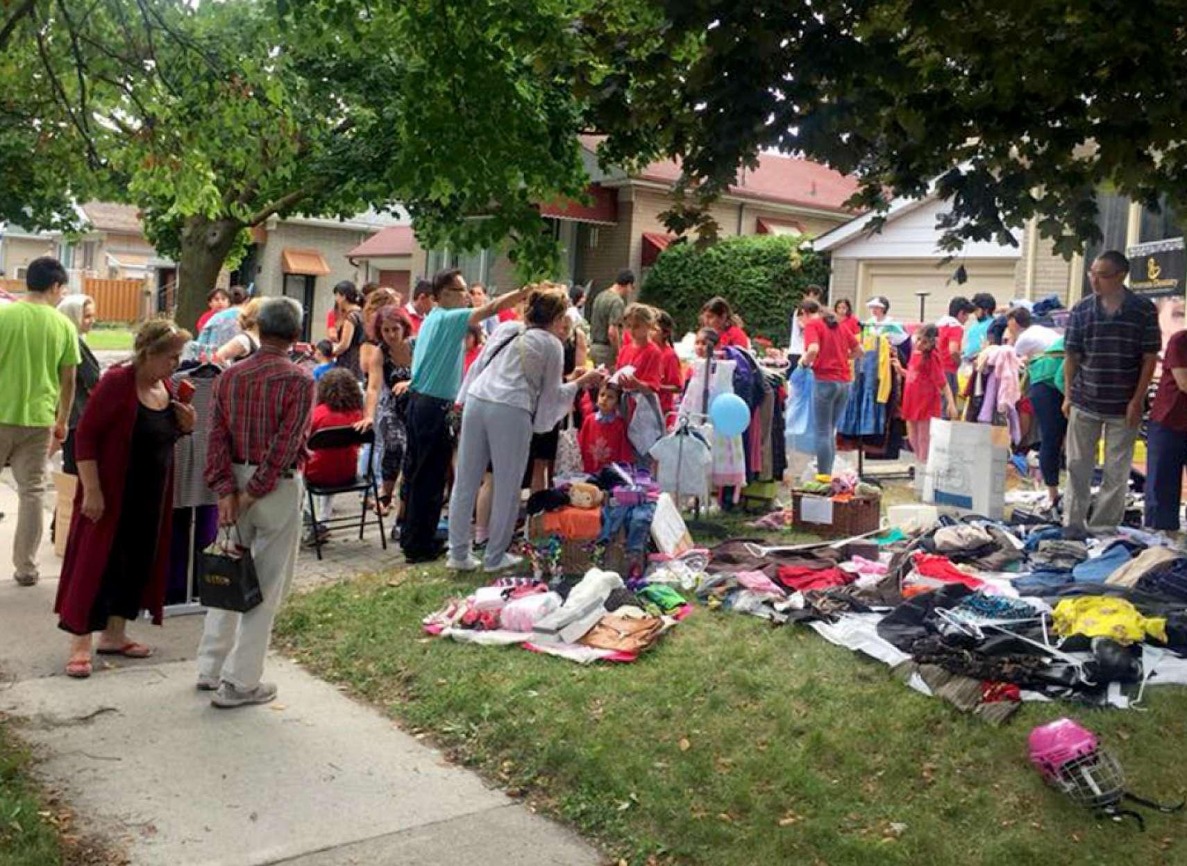 community-shole-khalili-garage-sale