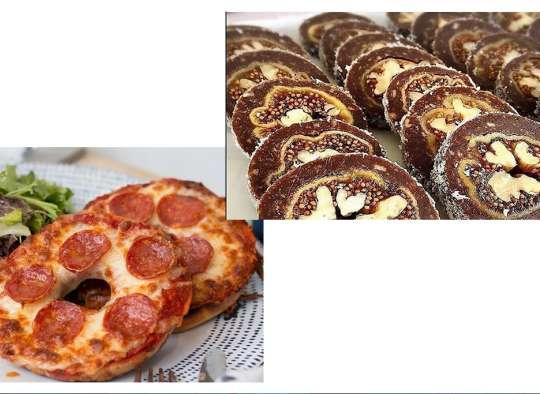 آشپزی-ترابی-لوکوم-انجیر-و-گردو-پیتزا-دونات