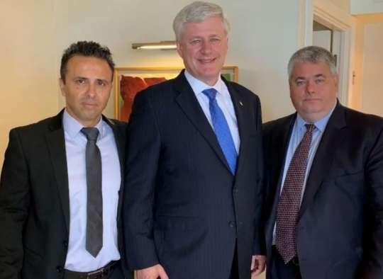 هارپر نخست وزیر سابق کانادا عضو شرکت جاسوسان بزرگ سابق شد تا روی پروژههای امنیتی اسرائیل سرمایهگذاری کند