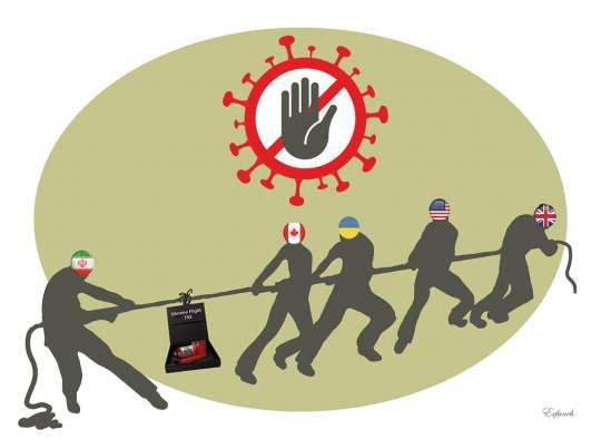 توقف تحویل جعبه سیاه اوکراین به دلیل کرونا