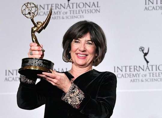 خبر-آمریکا-پایان-شیمی-درمانی-سرطان-تخمدان-کریستین-امانپور-مشهورترین-ژورنالیست-ایرانی-تبار