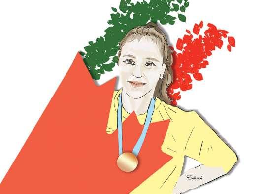 موفقیت دختر کشتیگیر ایرانیالاصل در کانادا