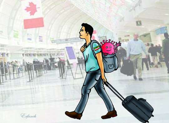 Some Iranians are entering Canada with COVID